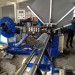 İsviçreli müşterimizin sac baca roll form makinası